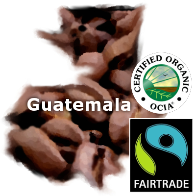 Guatemalan Fair Trade Organic Coffee 16 oz