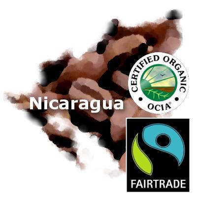 Nicaragua Fair Trade Organic Coffee 16 oz