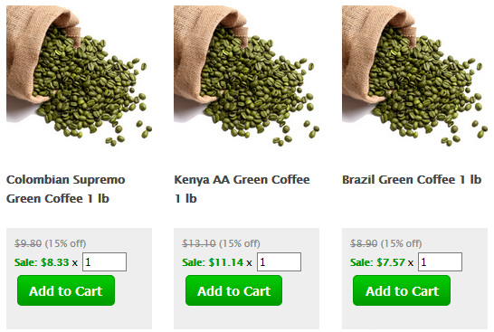 Green Coffee Beans Espresso Coffee Guide