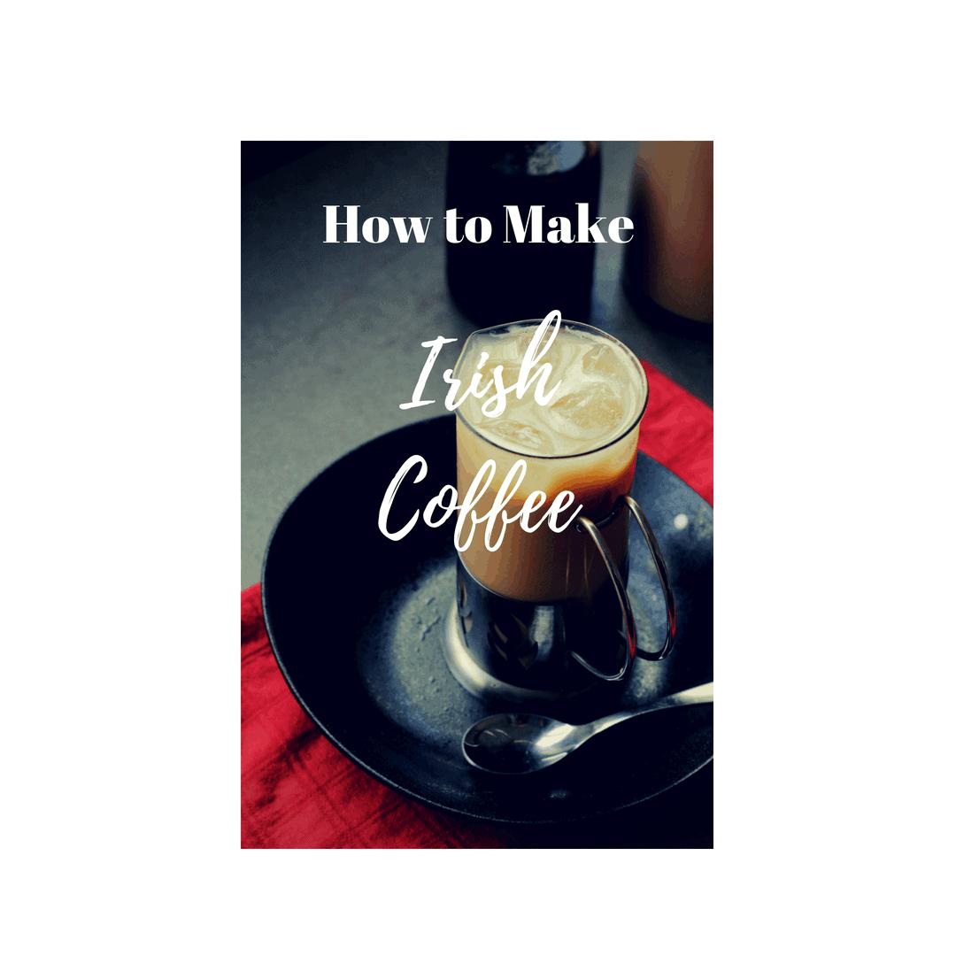 how to make irish coffee with single cream